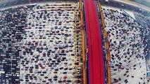 Incroyable : un bouchon monstrueux au retour de vacances en Chine