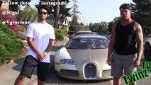 Gold Digger Prank Picking Up Women with a Bugatti Picking Up Girls Funny Pranks Pranks 201