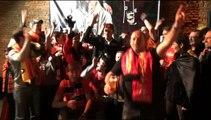 Andorre-Belgique: des supporters réveillés pour la soirée avec Daniel Van Buyten