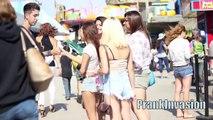Kissing Prank Thumb War (GONE SEXUAL) How to Kiss ANY Stranger Kissing Strangers Pranks 20