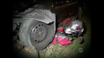 Motociclista morre atropelado em briga de trânsito