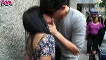 Kissing Prank in Mexico (GONE WILD) Besos faciles