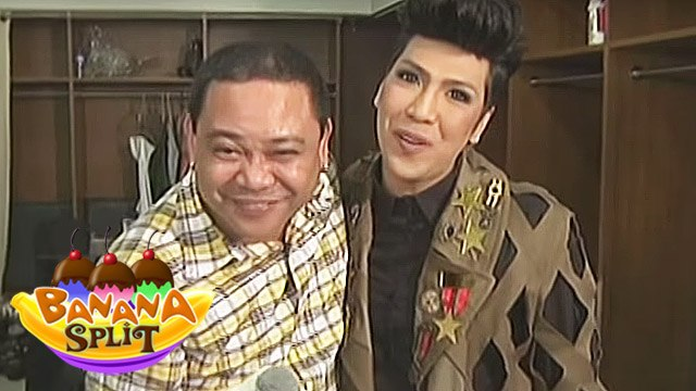 Banana Split: Kuya Jobert plays with Kapamilya stars