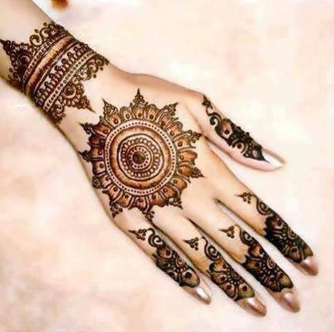 Back Hands Mehndi Design Tutorial