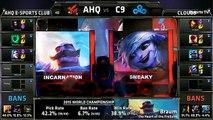 AHQ vs C9 | League of Legends World Championship 2015 Group B | Cloud 9 vs AHQ Esports