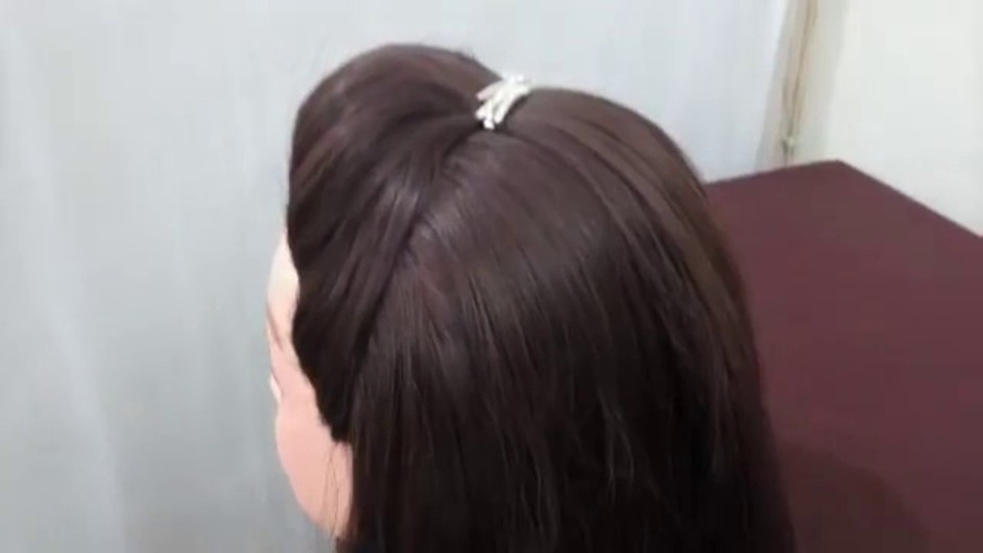 How To Make A Puff In Your Hair Without Hairspray Video Dailymotion