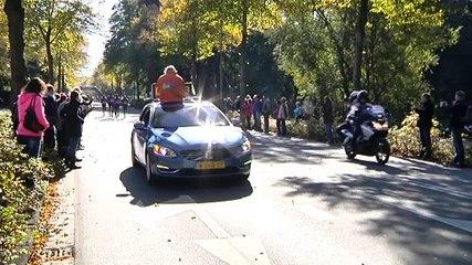 Koproep rent over de Verlengde Hereweg - RTV Noord