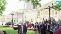 Bernie Sanders Says He Would Use Drones to Fight Terror as President
