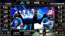 AHQ vs C9 | League of Legends World Championship 2015 TIE BREAKER | Cloud 9 vs AHQ Esports