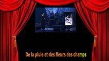 Karaoké Serge Lama - Les glycines