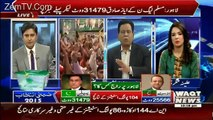 Waqt News Special Transmission On NA – 122(Part 3) – 11th October 2015