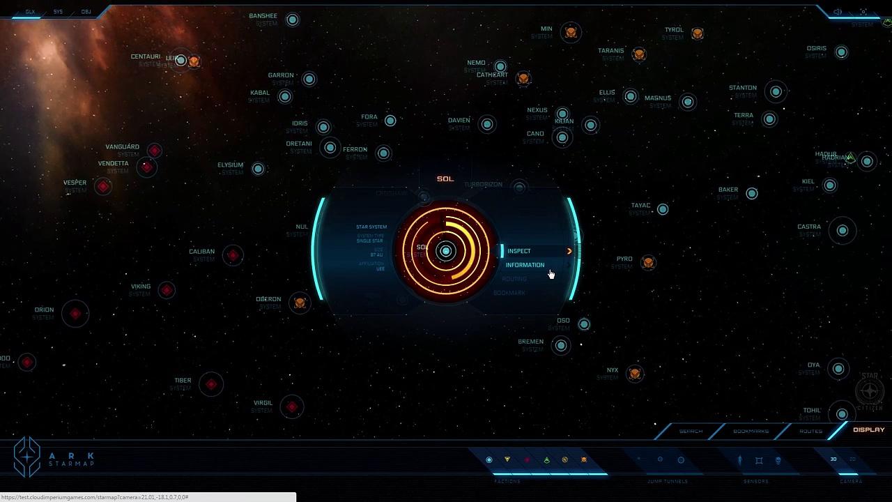 Star Citizen – Star Map