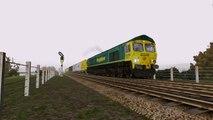 Train Simulator 2015 | Class 66 Diesel Locomotive Intermodal Run Around Edinburgh to Glasgow