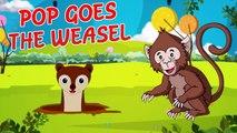 'Pop Goes The Weasel' - Nursery Rhyme For Kids   With Lyrics & Karaoke
