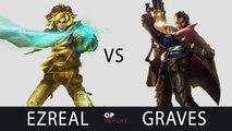 [Highlights] Ezreal VS Graves - EDG Deft KR LOL SoloQ