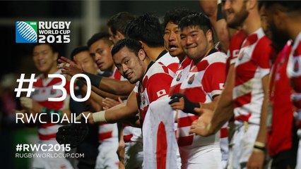 RWC Daily: Japan bow out with 3rd win