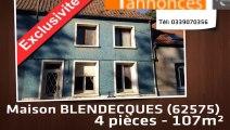 A vendre - BLENDECQUES (62575) - 4 pièces - 107m²