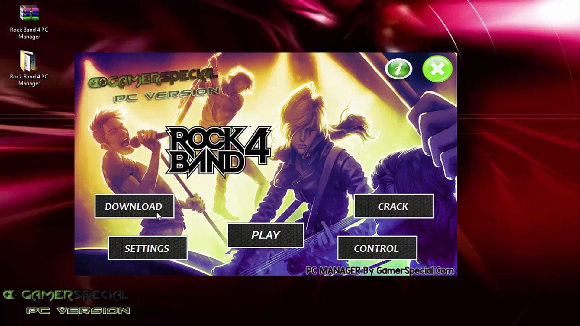 Rock Band 4 PC Version Download