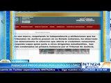 Gobierno de Paraguay dice estar preocupado por la situación de los presos políticos de Venezuela