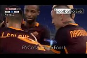 Roma - Barcellona Video Gol Alessandro Florenzi Champion's League 16 settembre 2015 -