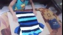Como planchar la ropa en 3 segundos para niños