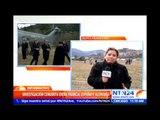 """Merkel, Hollande y Rajoy se comprometen a trabajar """"juntos"""" para determinar las causas del accidente"""