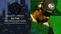 DJ FAB (early Electro Funk special) - Overdrive Infinity