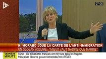 "Nadine Morano : ""Il vaut mieux Nadine que Marine"" - ZAPPING ACTU DU 12/10/2015"
