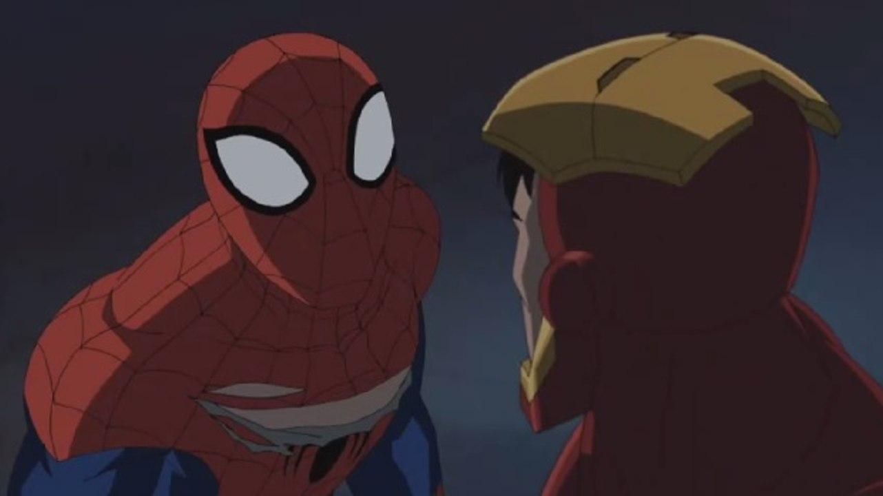 Ultimate Spider Man Ep05 El Vuelo De La Araña De Hierro Español Latino