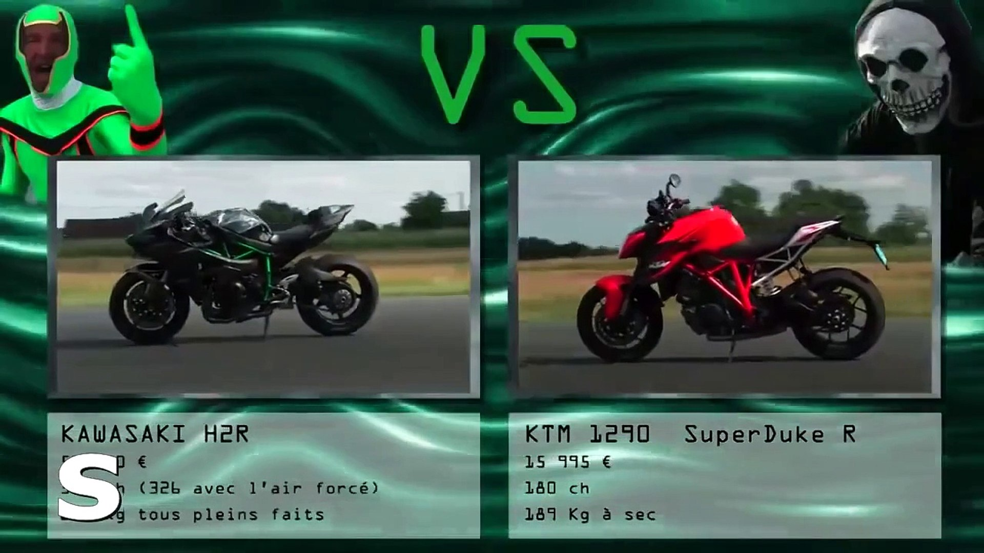 2015 Kawasaki H2r Vs Ktm Superduke R Suzuki Hayabusa Kart Mercedes Amg Gts Bmw S1000 Rr Dailymotion Video