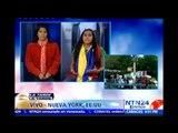 Periodista venezolana narra cómo se desarrollan las manifestaciones contra Maduro en Nueva York