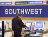 Southwest says the problem that delayed flights Sunday is fixed