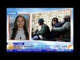 Vocera de Resistencia Sadel relata en NTN24 cómo fue agredida por uno de los directores de Yare III
