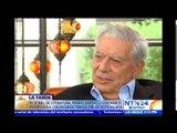 """Vargas Llosa asegura que dictaduras de Cuba y Venezuela """"no son modelos para nadie"""""""