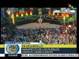 Movimientos chilenos participan en Segunda Cumbre de los Pueblos