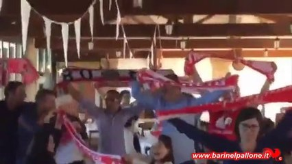 11/10/15 - BARI-LANCIANO: Pranzo barese a Reggio Emilia con i baresi al nord!!!
