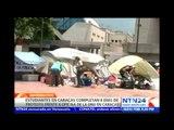 Estudiantes de Vzla. cumplen 8 días de protesta ante sede de la ONU exigiendo visita de comisión