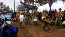 The Australian Army Band plays Rage Against The Machine Killing in the name of!