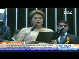 """Vicepresidente admite que será """"difícil"""" que Rousseff concluya su mandato"""