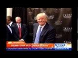 """Trump dice que México es un país """"corrupto"""" y pide """"boicot"""" de EE.UU. en su contra"""