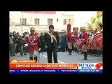 """Califican de """"falta de respeto"""" la ausencia de Evo Morales a celebración del 'Día de la Paz'"""