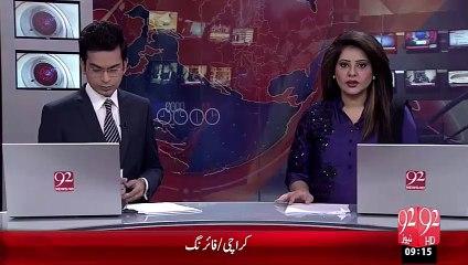 Karachi Rangers Ki Karwaie – 13 Oct 15 - 92 News HD