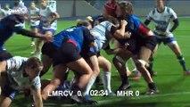 Rugby féminin : TOP 8 - Villeneuve d'Ascq / Montpellier (1ère mi-temps)