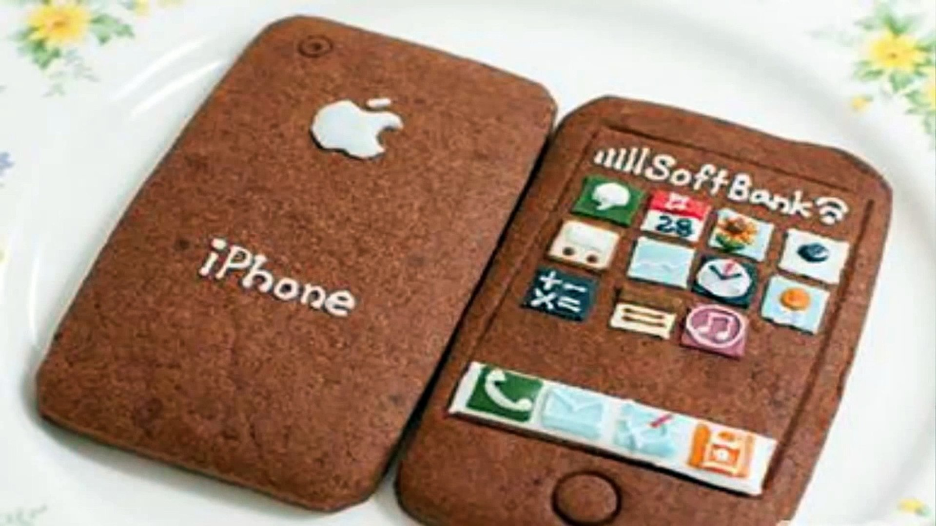 COMER UN IPHONE. Iphone comestible