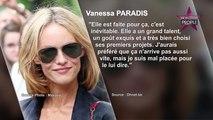 """Vanessa Paradis inquiète pour Lily-Rose Depp : """"J'aurai préféré que ça n'arrive pas aussi vite"""""""