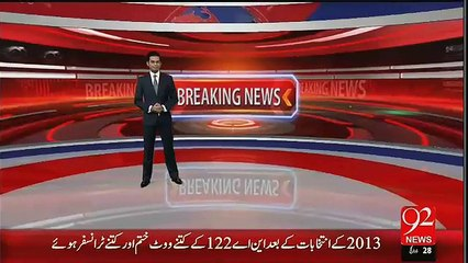 Breaking News- Ayaz Sadiq's Victory in NA-122 Challenged in Election Tribunal