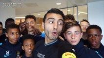 Le freestyler Soufiane Touzani humilie les jeunes de City !