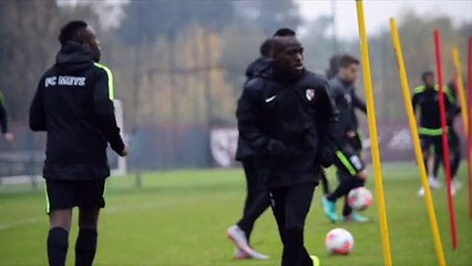 Entraînement du FC Metz