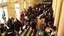 Conférence de presse du Salon du livre et de la presse jeunesse 2015