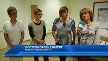 DICI TV : Des soins effectués via l'hypnose à l'hôpital d'Embrun